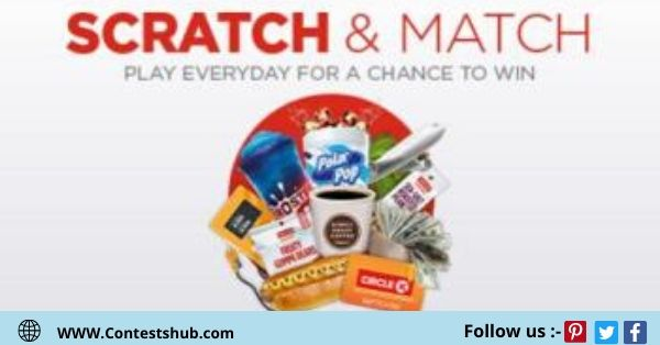 Holiday Scratch And Match Instant Win Sweepstakes