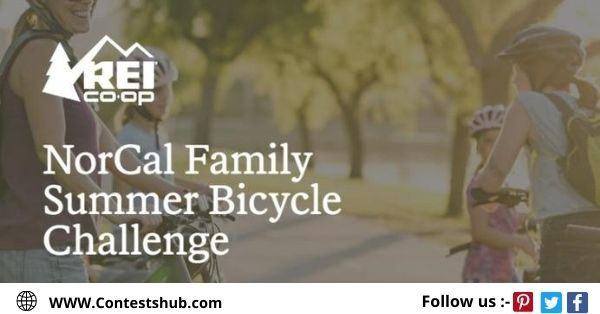 REI Family Summer Bicycle Challenge Sweepstakes