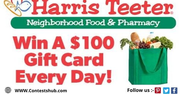Harris Teeter Free Groceries Sweepstakes
