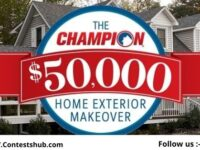 Champion Windows & Home Exteriors Makeover Giveaway