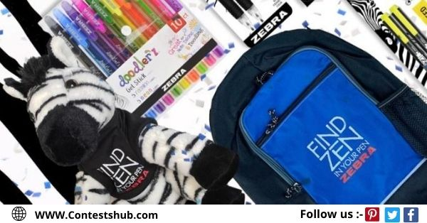 Zebra Pen Celebrate Z-Month Sweepstakes