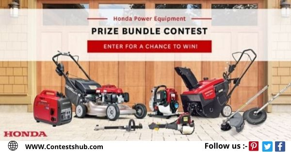 Honda Power Equipment Prize Bundle Contest
