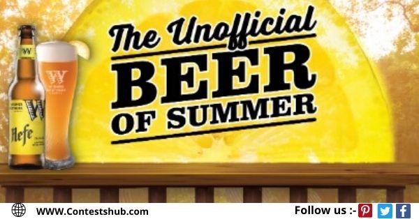 Unofficial Beer Of Summer Widmer Cooler Sweepstakes