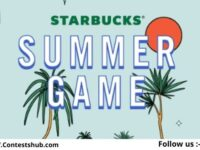 Starbucks Summer Instant Win Game