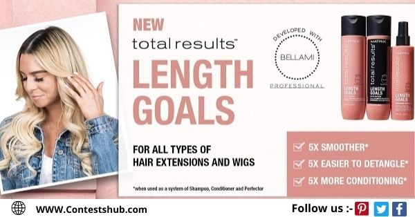 Matrix Total Results Length Goals Sweepstakes