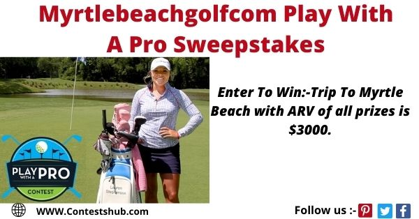 Trip To Myrtle Beach with ARV of all prizes is $3000.