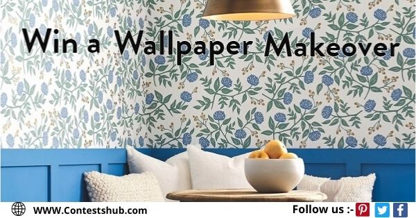 Wallpaper Room Makeover With Domino
