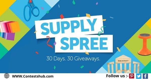School Specialty Supply Spree Sweepstakes 2020