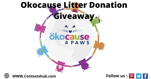 Okocause Litter Donation Giveaway