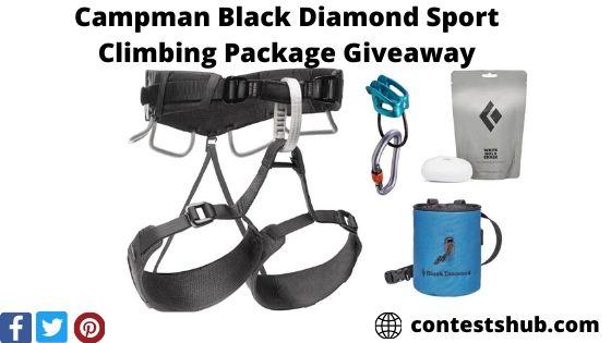 Campman Black Diamond Sport Climbing Package Giveaway