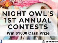 Night Owls Annual Art Contest