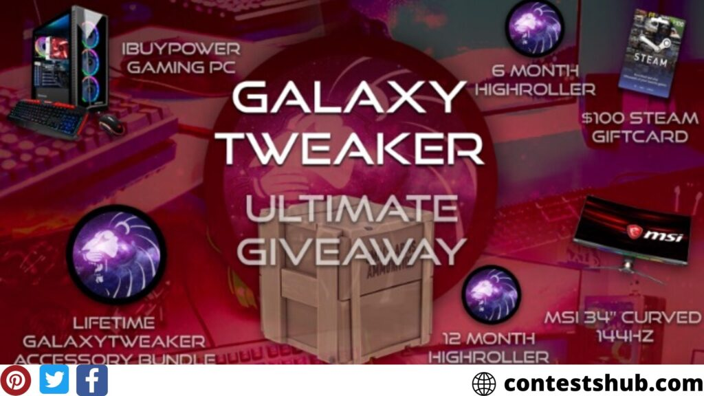 GalaxyTweaker PC Gamer Crate Giveaway