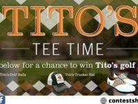 Tito's Tee Time Golf Survey Sweepstakes