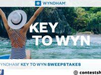 Wyndham Rewards Key to Wyn Sweepstakes