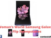Woman's World Samsung Galaxy Z Flip Sweepstakes
