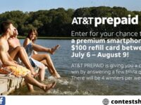AT&T Prepaid Sweepstakes 2020