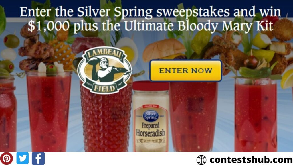 Silver Spring Ultimate Bloody Mary Giveaway