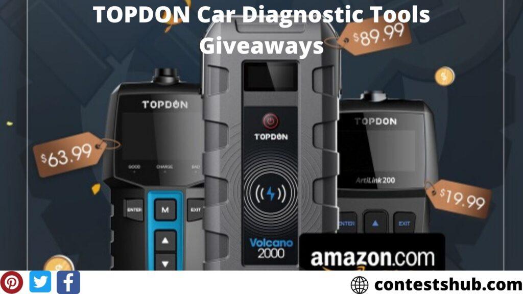 TOPDON Car Diagnostic Tools Giveaways