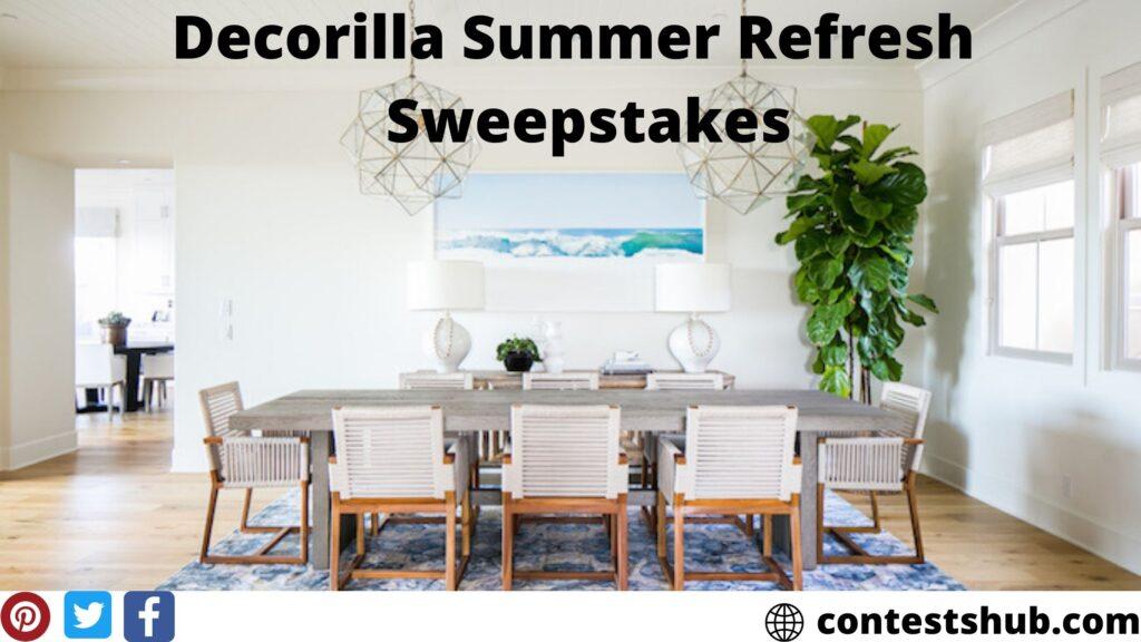 Decorilla Summer Refresh Sweepstakes