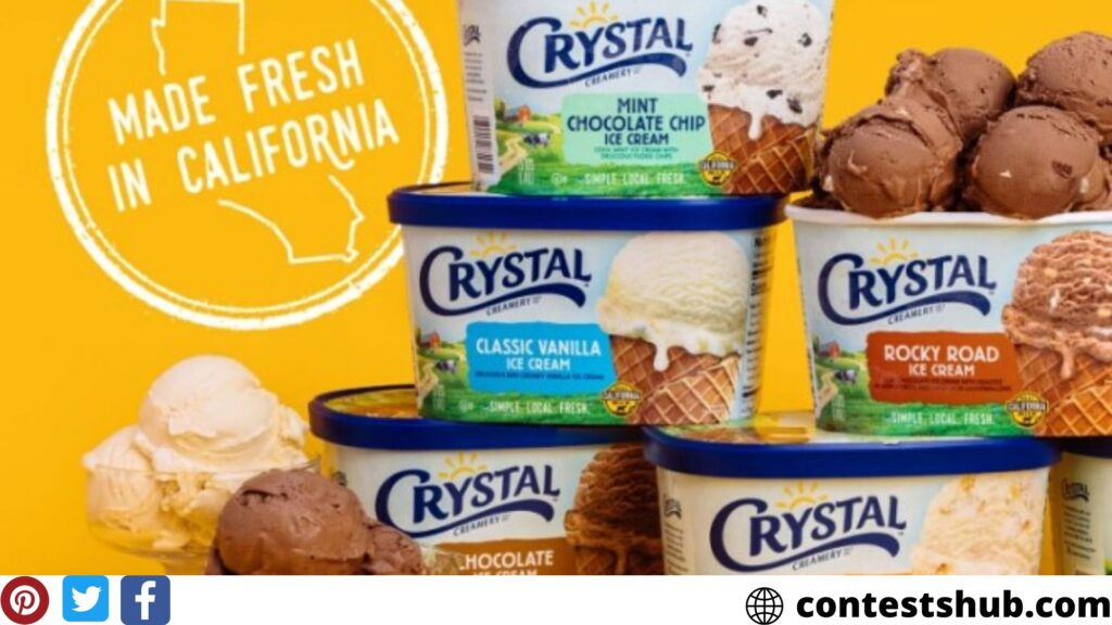 Crystal Creamery Staying Local, Eat Ice Cream Sweepstakes