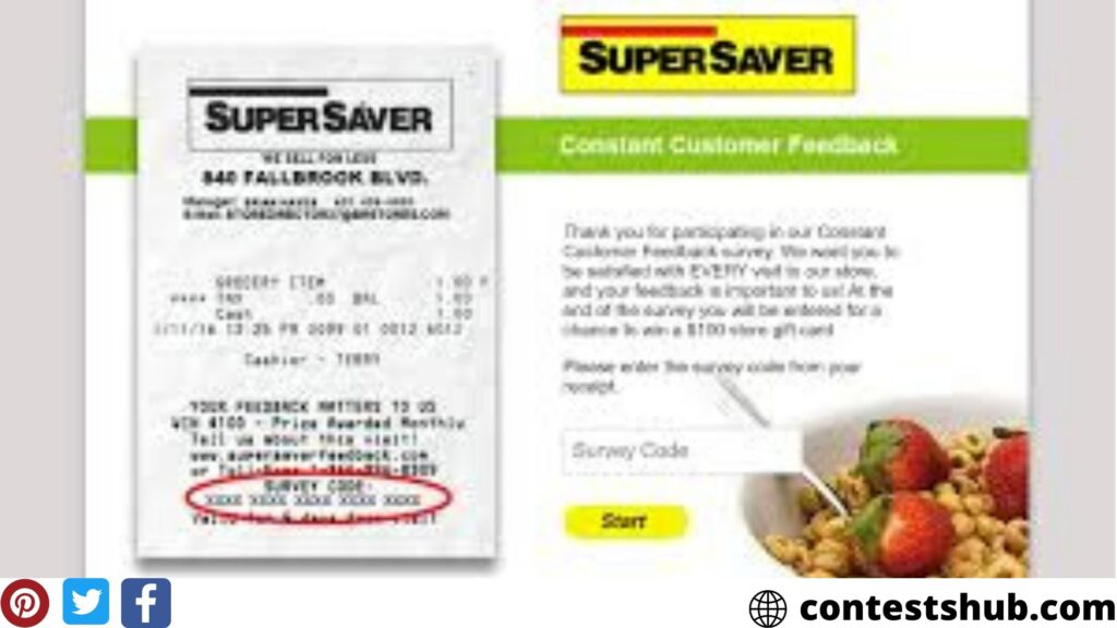 Super Saver Feedback Survey