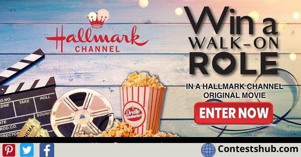 Hallmark Channel Walk On Role Sweepstakes