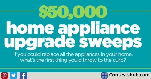 HGTV Magazine Home Appliance Sweepstakes