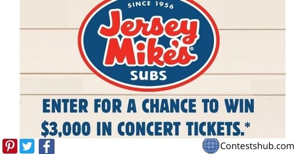 Win Free Concerts Tickets For a Year Sweepstakes