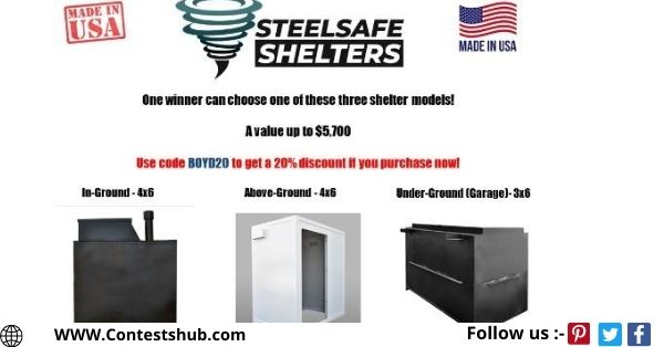 Steelsafe Shelter Made In The USA Giveaway