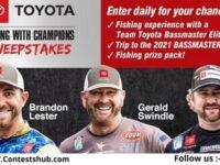 Bassmaster Toyota Fishing Sweepstakes 2020