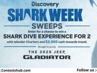Discovery.com Shark Week Sweepstakes 2020