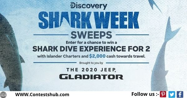 Discovery.com Shark Week Sweepstakes 2020