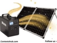 4 Patriots Solar Powered Generator Giveaway