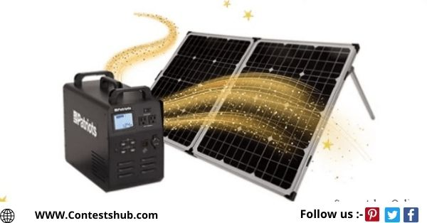 4 Patriots Solar Powered Generator Giveaway