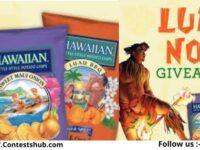 Hawaiian Brand Luau Now Giveaway