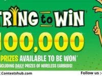 Cheestrings String to Win Contest 2020