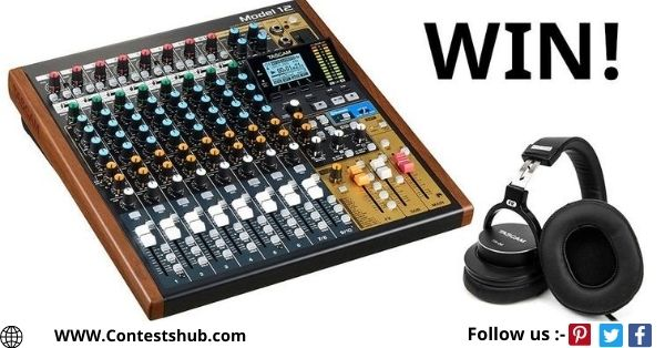 TASCAM Mixer And Headphone Giveaway