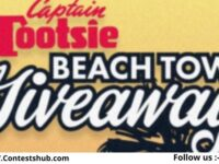 Captain Tootsie Beach Towel Giveaway