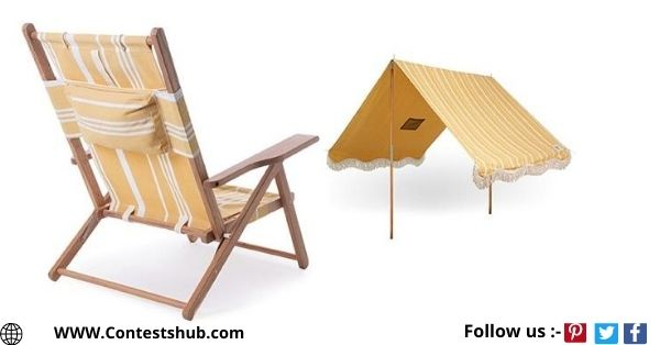 Experience Life Portable Beach Tent And Lounge Chair Giveaway