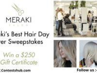 Meraki Best Hair Day Ever Sweepstakes