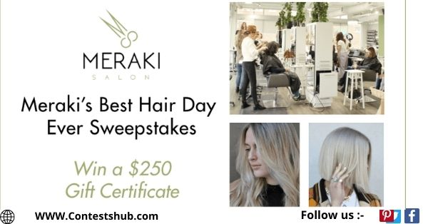 Meraki Best Hair Day Ever Sweepstakes