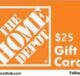 $25 Home Depot Giveaway