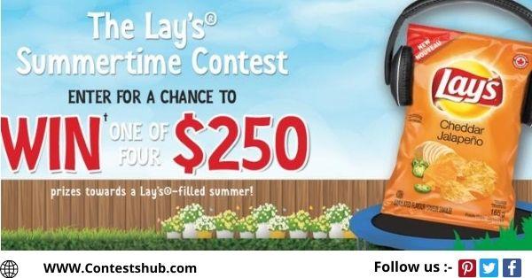 PepsiCo Canada The Lays Summertime Contest