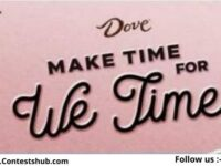 Dove Make Time For We Time Sweepstakes