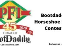 Bootdaddy Horseshoe Nails Contest
