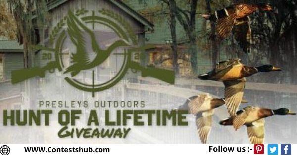 Presleys Outdoors Hunt Of A Lifetime Giveaway