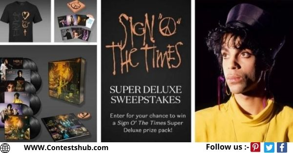Sign O The Times Super Deluxe Sweepstakes