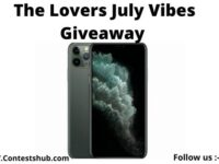 The Lovers July Vibes Giveaway