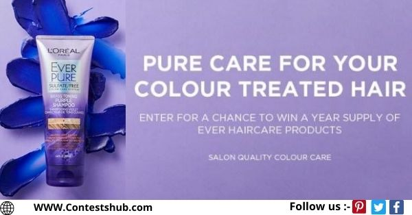 Loreal Canada EverPure Purple Giveaway