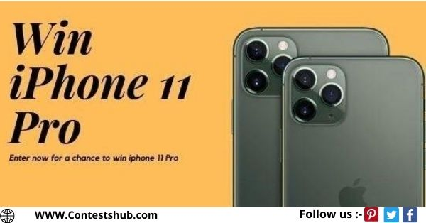 IPhone Or $700 Cash Option Giveaway